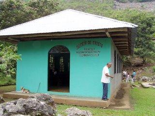 Church building at El Cañón